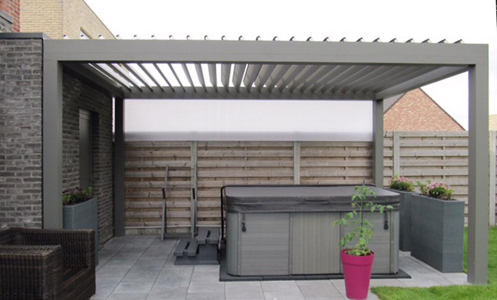 gesch tzter freiraum terrassen berdachungen holz bald gmbh. Black Bedroom Furniture Sets. Home Design Ideas